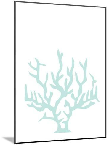 Mint Coral-Jetty Printables-Mounted Art Print