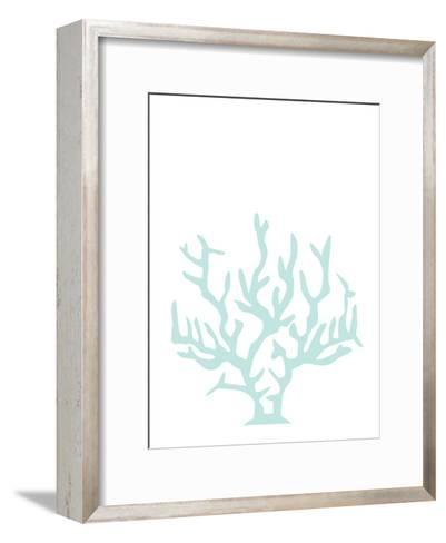 Mint Coral-Jetty Printables-Framed Art Print