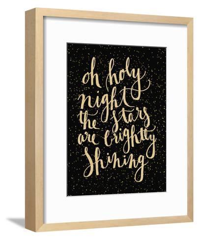Holy Night-Jetty Printables-Framed Art Print
