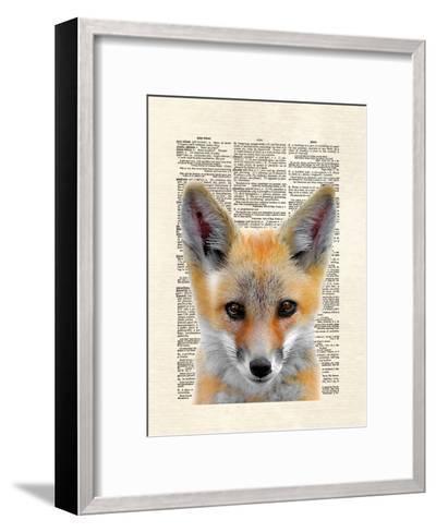 Fox Face-Matt Dinniman-Framed Art Print