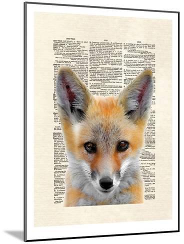 Fox Face-Matt Dinniman-Mounted Art Print