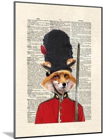 Fox Guard-Matt Dinniman-Mounted Art Print