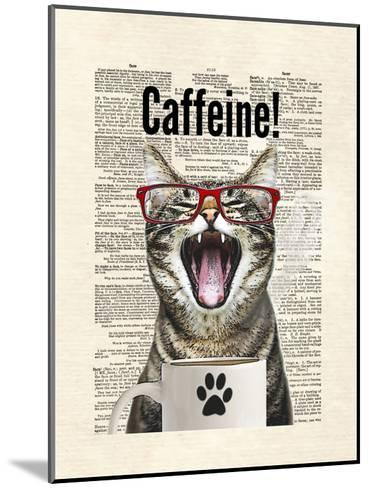 Cat Caffeine-Matt Dinniman-Mounted Art Print