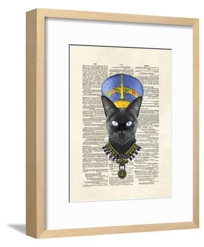 Cat Nefertiti-Matt Dinniman-Framed Art Print