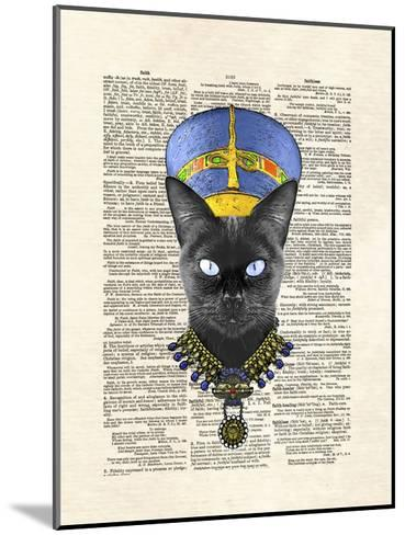 Cat Nefertiti-Matt Dinniman-Mounted Art Print