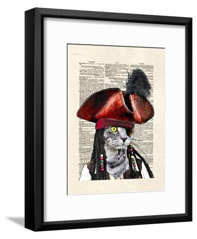 Cat Sparrow-Matt Dinniman-Framed Art Print