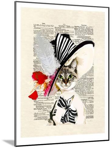 Audrey Cat-Matt Dinniman-Mounted Art Print