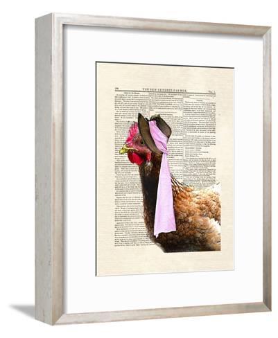 Chicken Lady-Matt Dinniman-Framed Art Print