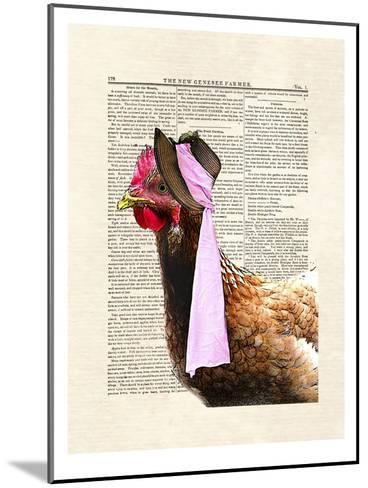 Chicken Lady-Matt Dinniman-Mounted Art Print