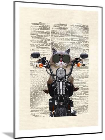 Roxie Motorcycle-Matt Dinniman-Mounted Art Print