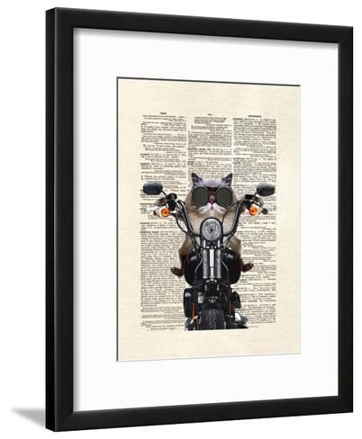 Roxie Motorcycle-Matt Dinniman-Framed Art Print