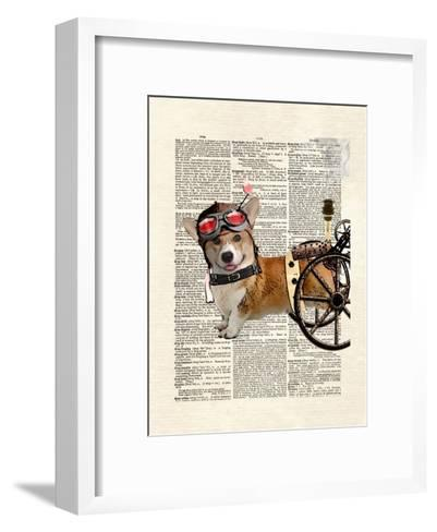 Steam Corgi-Matt Dinniman-Framed Art Print