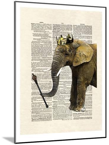 Elephant King-Matt Dinniman-Mounted Art Print