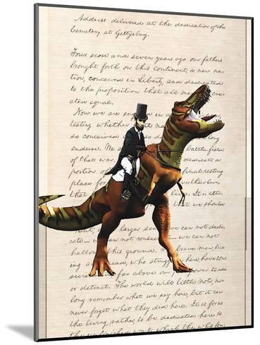 Lincoln T Rex-Matt Dinniman-Mounted Art Print