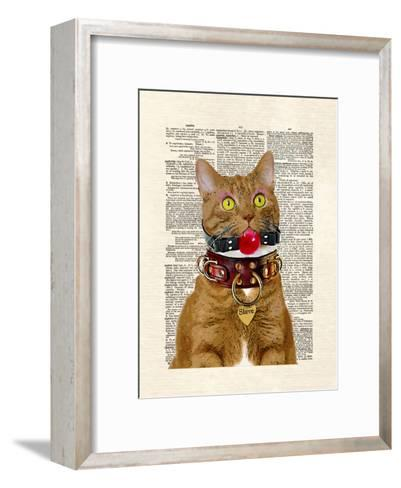 Slave Kitty-Matt Dinniman-Framed Art Print