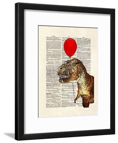 Little Tony-Matt Dinniman-Framed Art Print
