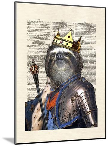 Sloth King-Matt Dinniman-Mounted Art Print