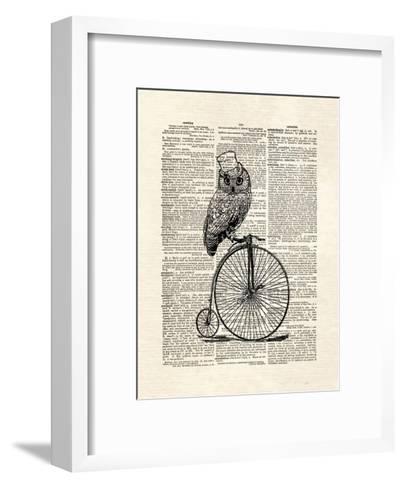 Top Hat Owl-Matt Dinniman-Framed Art Print