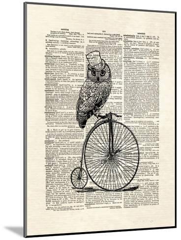 Top Hat Owl-Matt Dinniman-Mounted Art Print