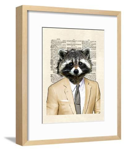 Raccoon-Matt Dinniman-Framed Art Print