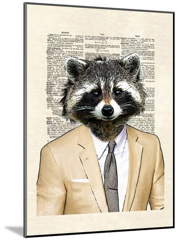Raccoon-Matt Dinniman-Mounted Art Print