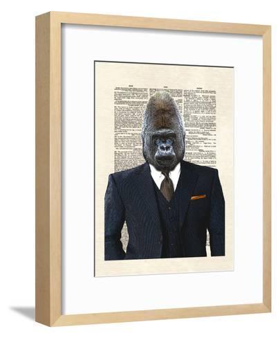 Gorrila 1-Matt Dinniman-Framed Art Print