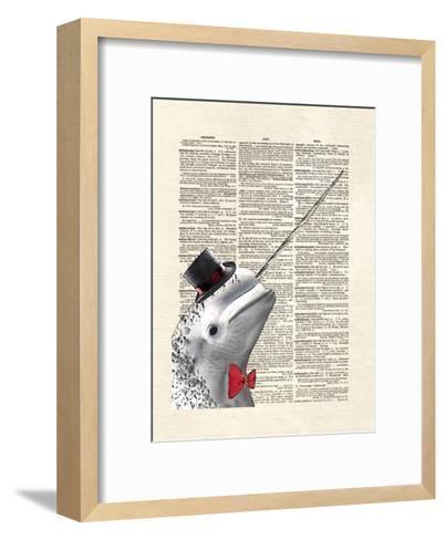 Narwhal Dandy-Matt Dinniman-Framed Art Print