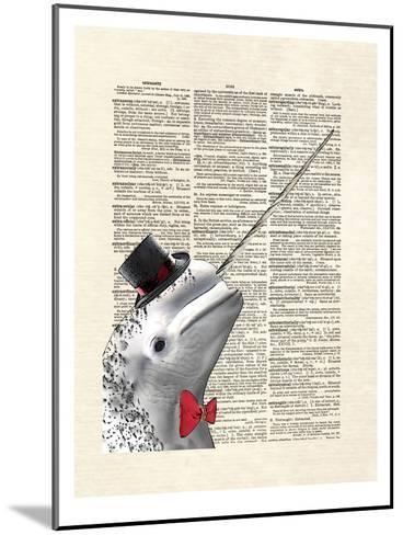 Narwhal Dandy-Matt Dinniman-Mounted Art Print