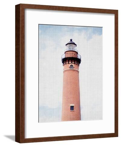 Light House Coral-LILA X LOLA-Framed Art Print