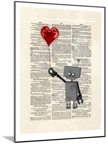 Robot Love-Matt Dinniman-Mounted Art Print