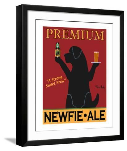 Newfie Premium Ale-Ken Bailey-Framed Art Print
