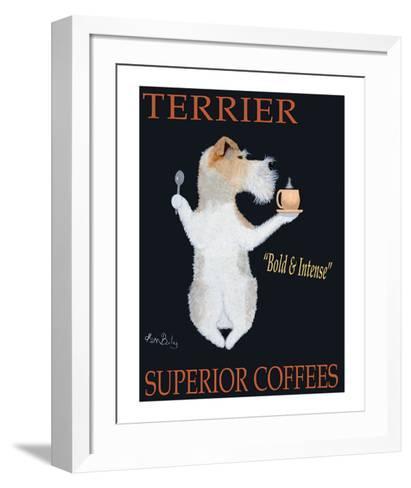Terrier Superior Coffees-Ken Bailey-Framed Art Print