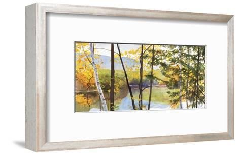 Autumn Lake IV-Elissa Gore-Framed Art Print