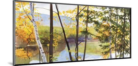 Autumn Lake IV-Elissa Gore-Mounted Art Print