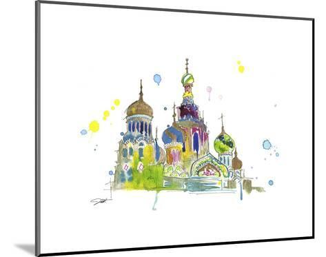 A Little Slice of Russia-Jessica Durrant-Mounted Art Print