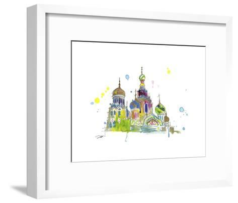 A Little Slice of Russia-Jessica Durrant-Framed Art Print