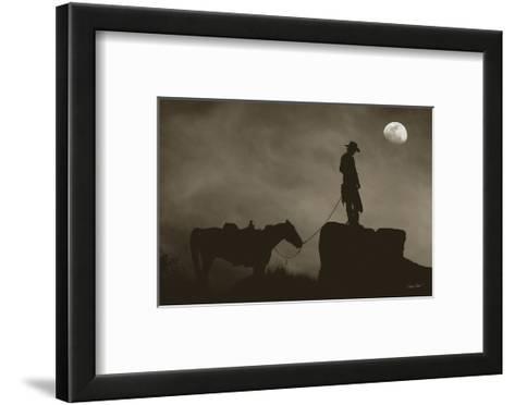 A Little Closer to Heaven-Barry Hart-Framed Art Print