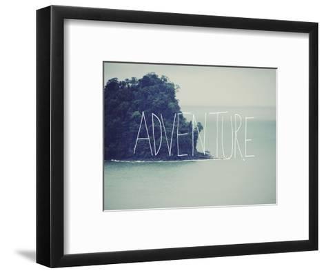 Adventure Island-Leah Flores-Framed Art Print