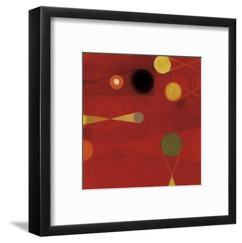 1957 #6-Bill Mead-Framed Art Print