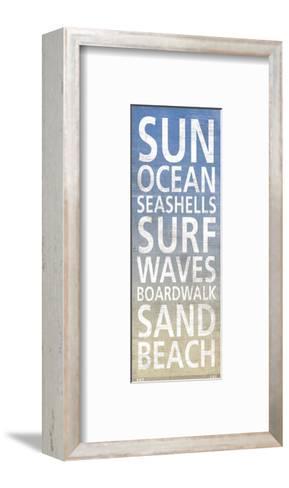 At The Beach-Sparx Studio-Framed Art Print