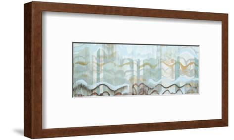 Aqua-Joan Davis-Framed Art Print