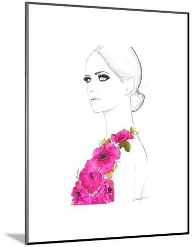 Always the Flower Child-Jessica Durrant-Mounted Art Print
