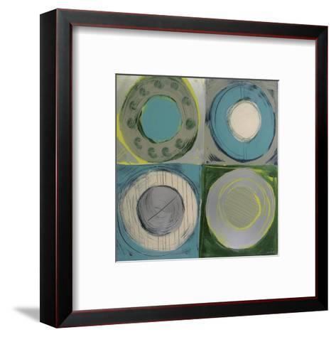 Aquamarine-Sebastian-Framed Art Print