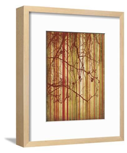 Auburn Stripe-Erin Clark-Framed Art Print