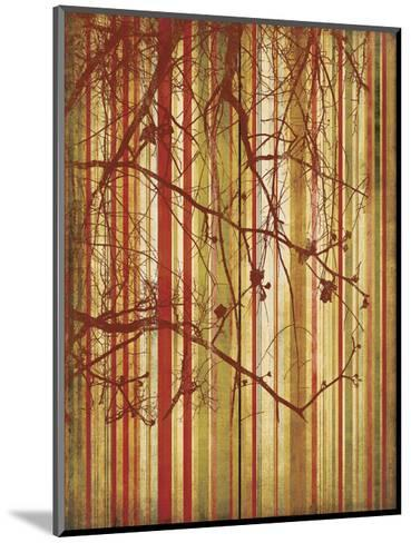 Auburn Stripe-Erin Clark-Mounted Art Print