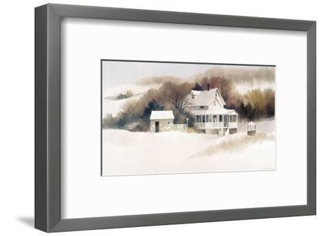 Beckett Farm-Albert Swayhoover-Framed Art Print