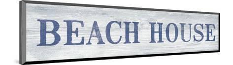 Beach House-Sparx Studio-Mounted Art Print