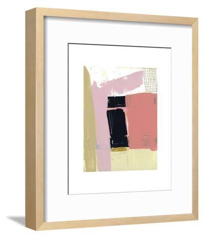 Badge I-Cathe Hendrick-Framed Art Print