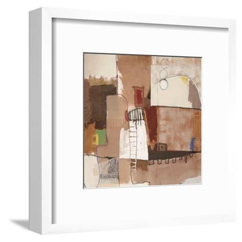 Avenue A-Luis Parra-Framed Art Print