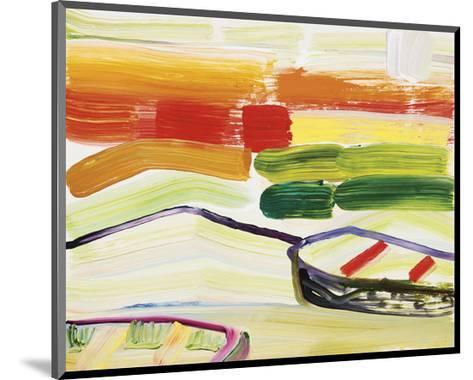 Boat on the Sea?s Edge-Joan Davis-Mounted Art Print